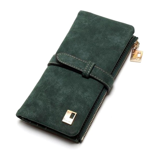 Stylish Zippered Phone Clutch Wallet