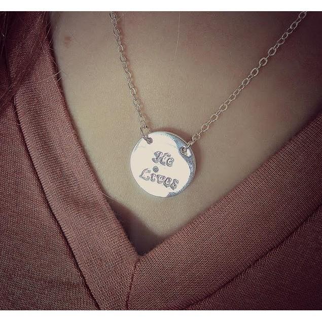 """He Lives"" Pendant Necklaces - 2 Styles"