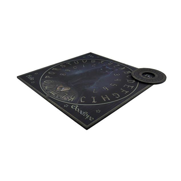 Lisa Parker His Masters Voice Talking Board New Occult Fortune Telling Toys