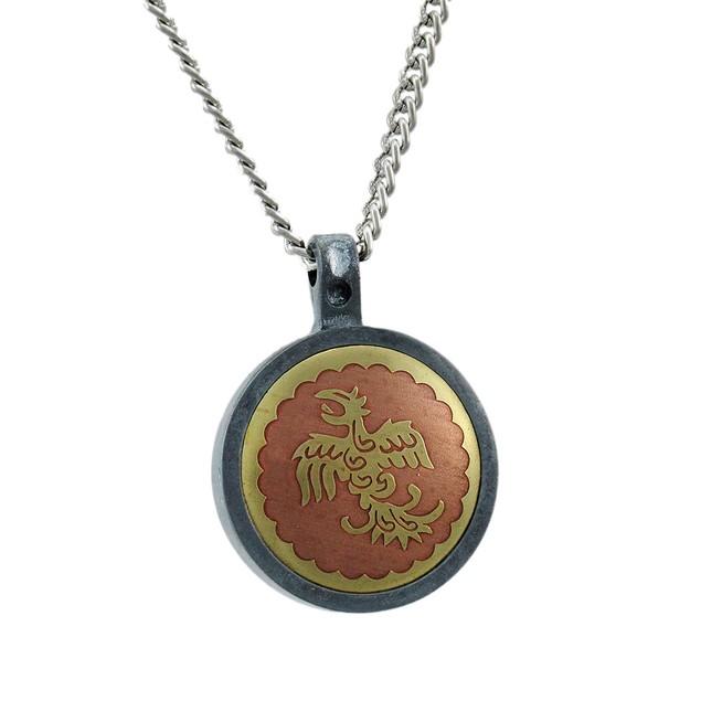 Feng Huang Magical Talisman Necklace Mens Pendant Necklaces