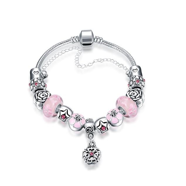 Mini Petite Pink Designer Inspired Bracelet