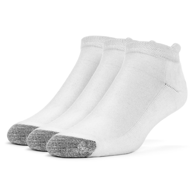 Galiva Women's Cotton Extra Soft No Show Cushion Socks - 3 Pairs