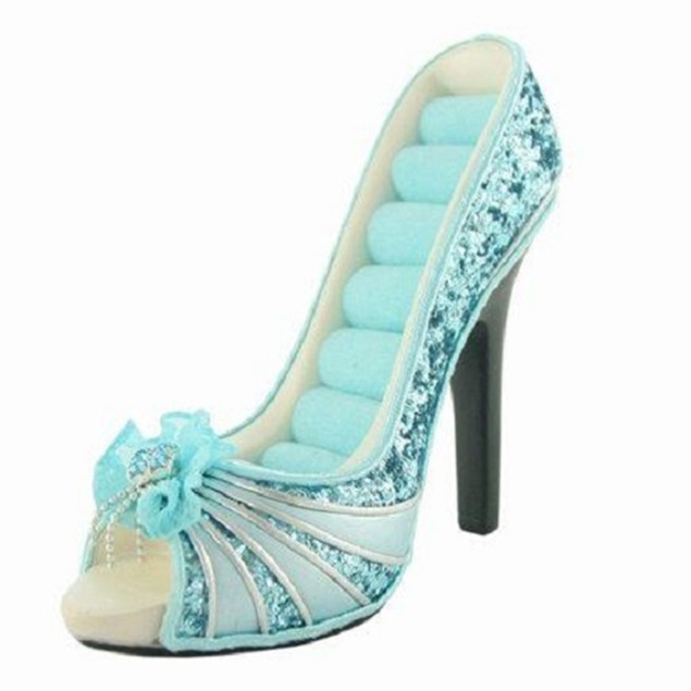 """High Heel 6"""" Jewelry Stand- Assorted Styles"""