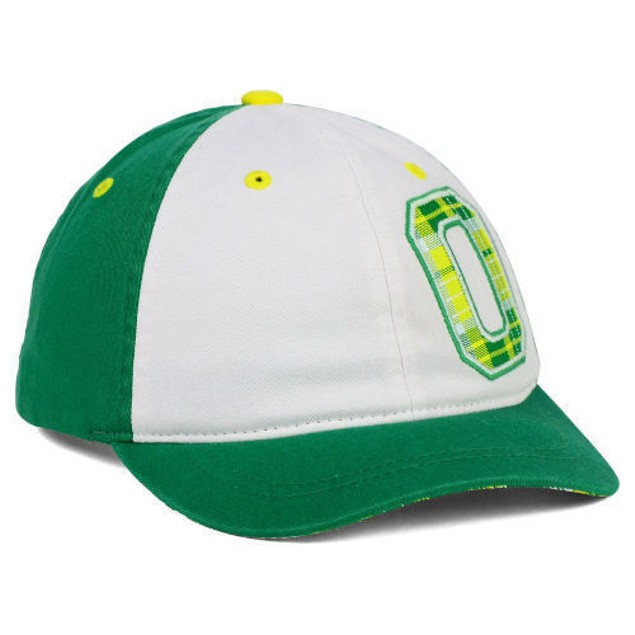 "Oregon Ducks NCAA Zephyr ""Women's Washed Plaid"" Adjustable Hat"