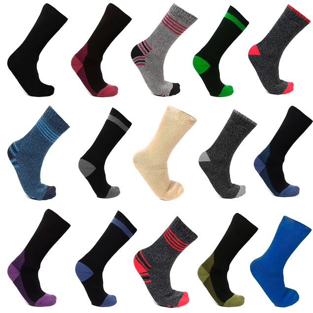 6-Pair Mystery Deal: Men's Mega Thermo Thermal Socks
