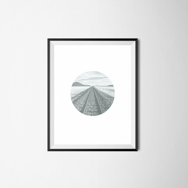 Journey to the Mountains Wall Art Printable