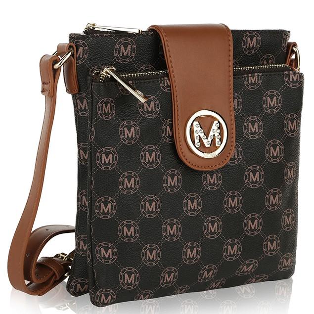 MKF Collection Sasha M Signature Cross Body Bag by Mia K Farrow