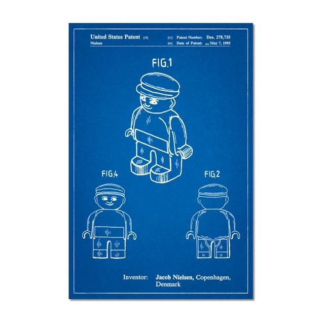 Lego Guy Poster