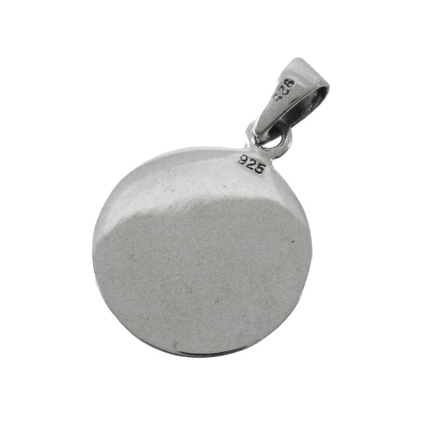Highly Detailed Sterling Silver Aztec Calendar Womens Pendants