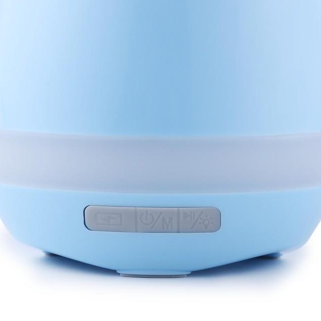 Mini Smart Flower Pot w/ Bluetooth Speaker & Piano Sound - Watch the Video