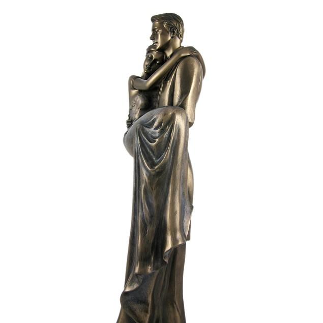 Across The Threshold Bronzed Wedding Statue Statues