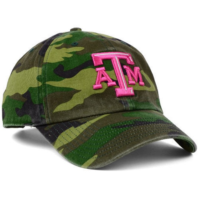 "Texas A&M Aggies NCAA 47' Brand ""Fashion"" Clean Up Adjustable Hat"