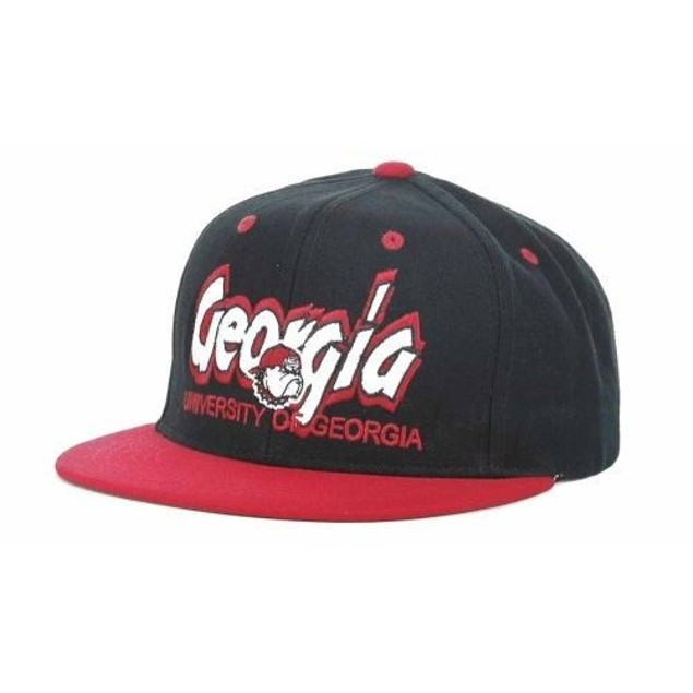Georgia Bulldogs NCAA TOW Double Vision Snapback Hat