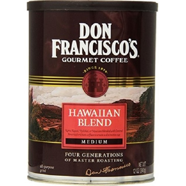 Don Francisco's Gourmet Coffee Hawaiian Blend