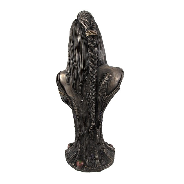 Bronze Breastfeeding Goddess Danu Mother Earth Bust Sculptures