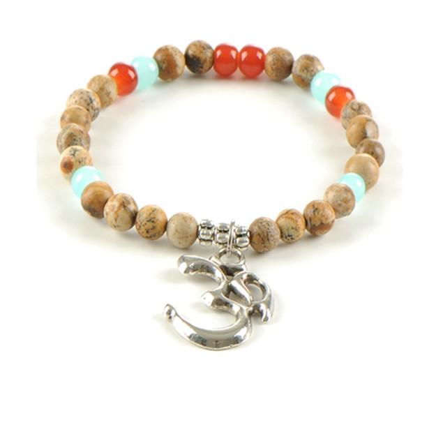 Ohm Bead Bracelet