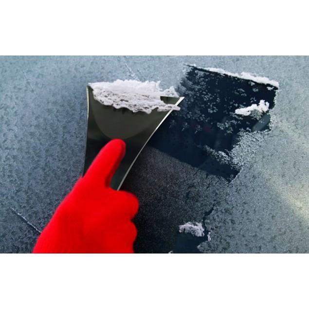 Zone Tech Scratch-free Chisel Blade  Foam Grip Car Ice Snow Scraper Remover
