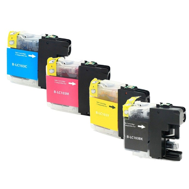 Brother LC103 Compatible Ink 4-Pack
