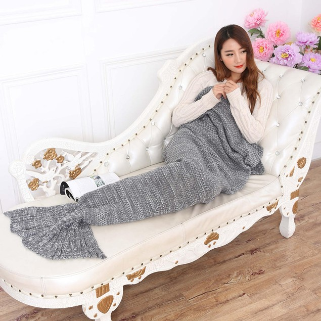 Adult Mermaid Blanket - Assorted Colors
