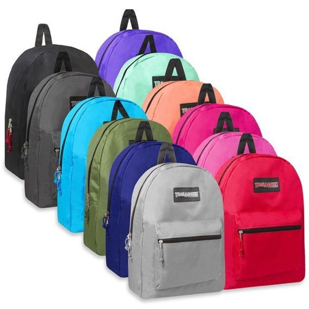"Classic 17"" Trailmaker Backpack 12 Color Variety"