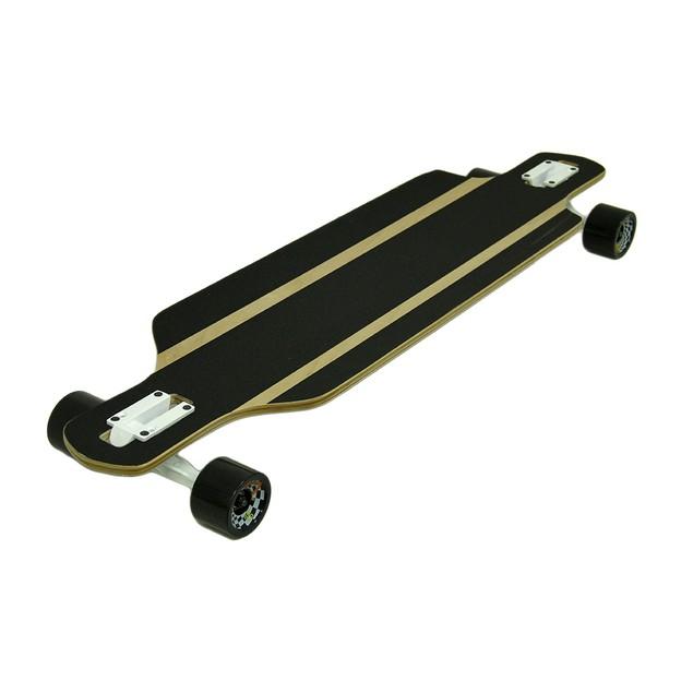 40 In. Drop Through 8 Ply Complete Longboard Longboard Skateboards