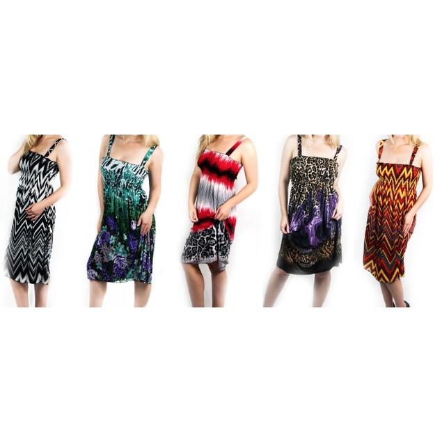 Trendy Short Beach Summer Dress