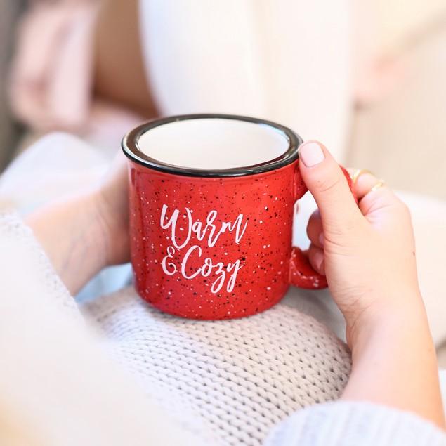 Warm & Cozy Coffee Campfire Mug