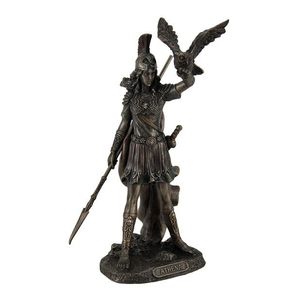Athena Greek Goddess Of Wisdom Law And Justice Statues