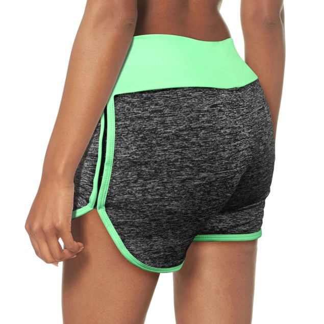 6-Pack Mystery Deal: Women's Mesh Cotton-Blend Waistband Yoga Shorts