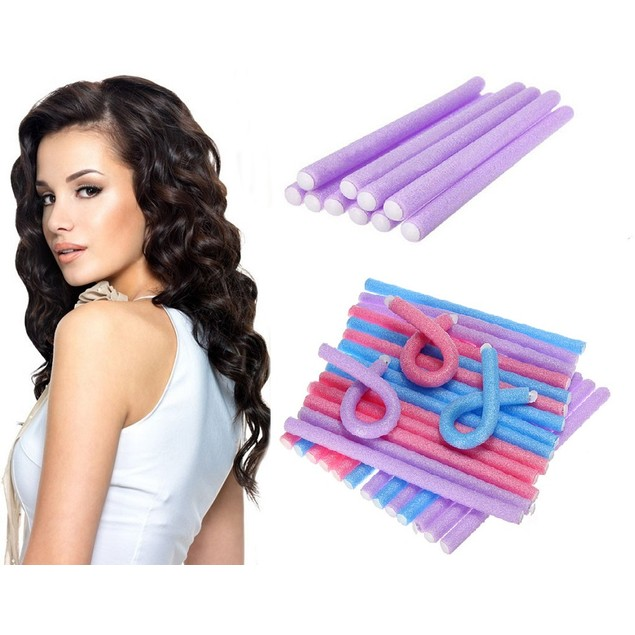 Soft Bend Curlers  10 Piece Set