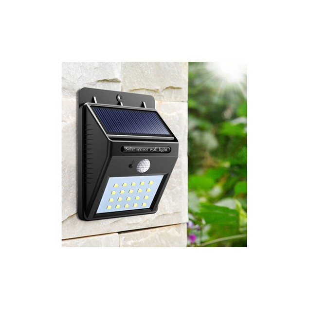 20 LED Solar-Powered Motion Sensor Security Light (1 - 4 Pack)