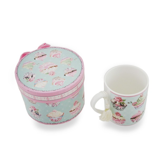 Ceramic Victorian Cupcake Tea/Coffee Mug Coffee Cups
