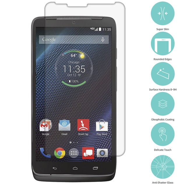Motorola Droid Turbo Tempered Glass Film Screen Protector Clear