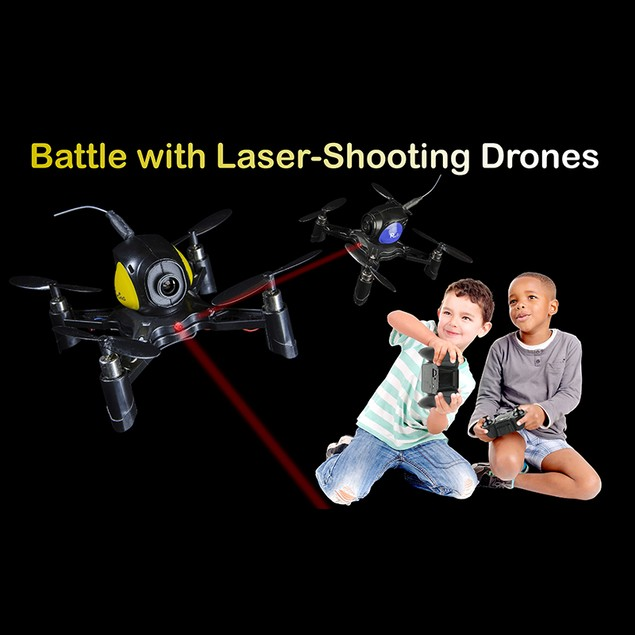 2-Pack Xtremepro Battle Drones w/ HD Cameras
