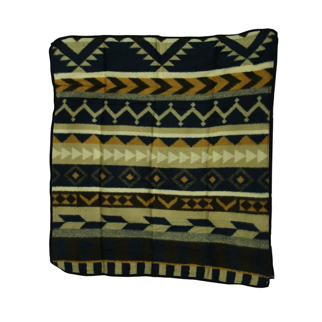 Plush Fleece Cheyenne Throw Blanket 50 X 60 In. Throw Blankets