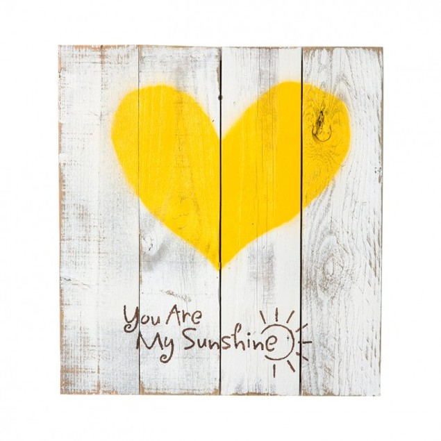 You Are My Sunshine Reclaimed Wood Sign