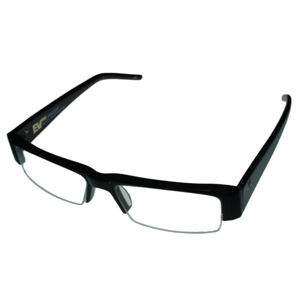Electric Eyewear Rectangle Mens Black Bottom Rimless Frame Resistor EV00900100