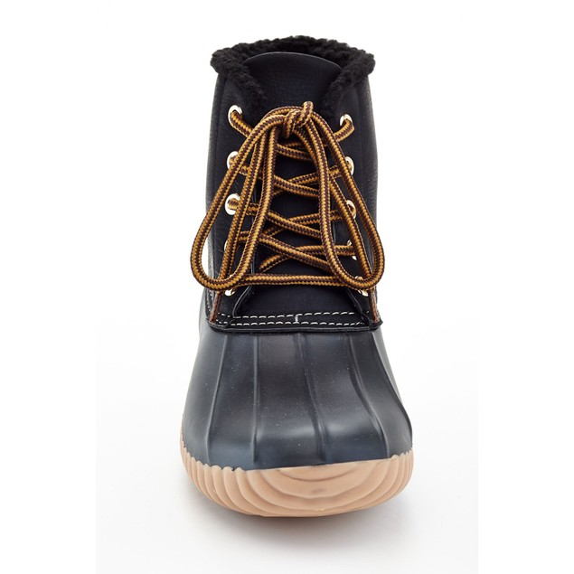 Henry Ferrera Mission Women's Water Resistant Duck Winter Boots Fur Lining