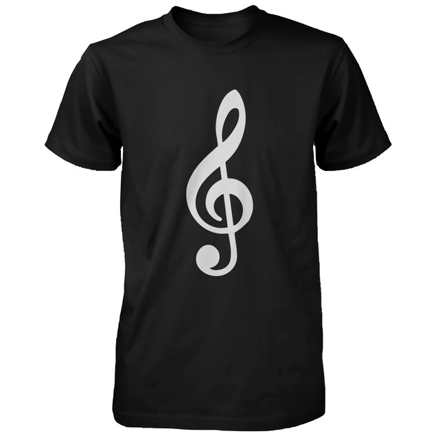 Table Clef And Bass Clef Daddy And Baby Matching T-shirt Fathers Day Gifts