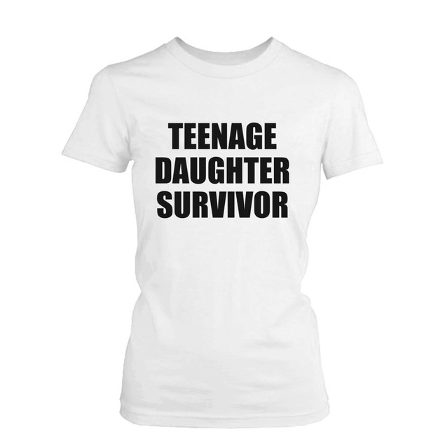 Teenage Daughter Survivor Graphic T-Shirt
