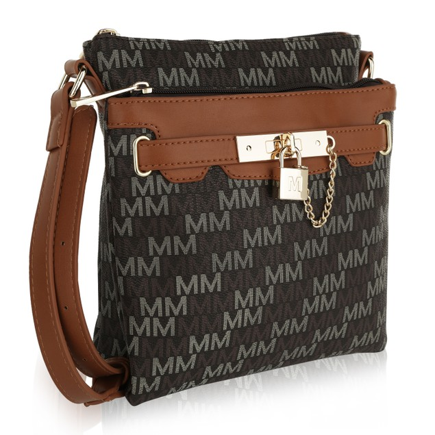 MKF Collection Gia M Signature Crossbody Bag by Mia K Farrow