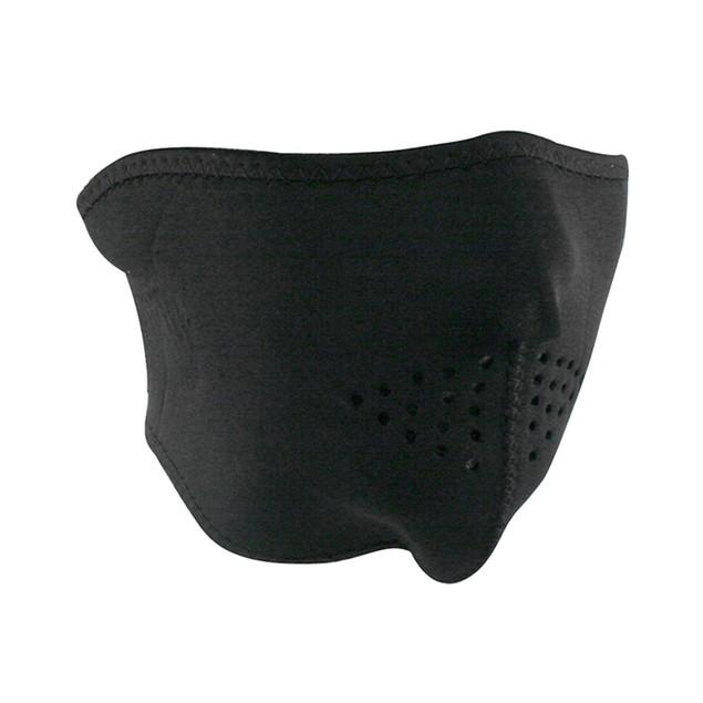 Neoprene 1/2 Face Mask - Black