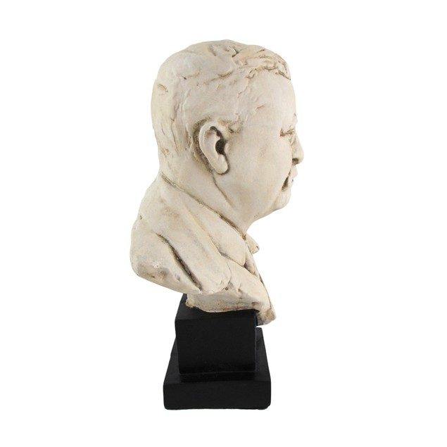 Theodore `Teddy` Roosevelt Bust 10 In. Bust Sculptures