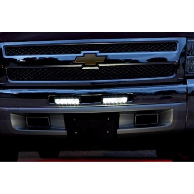 Zone Tech 2x 18W 6 LED Offroad Work Bar Beam Lamp ATV Jeep Car Truck Boat