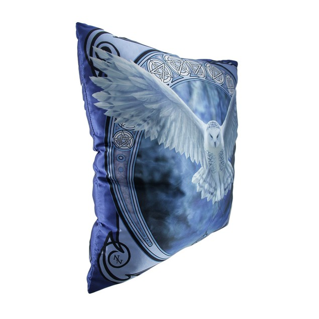 Anne Stokes Awaken Your Magic 20 Inch Owl Throw Throw Pillows