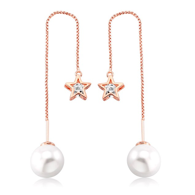 18kt Rose Gold Plated Freshwater Drop Necklace