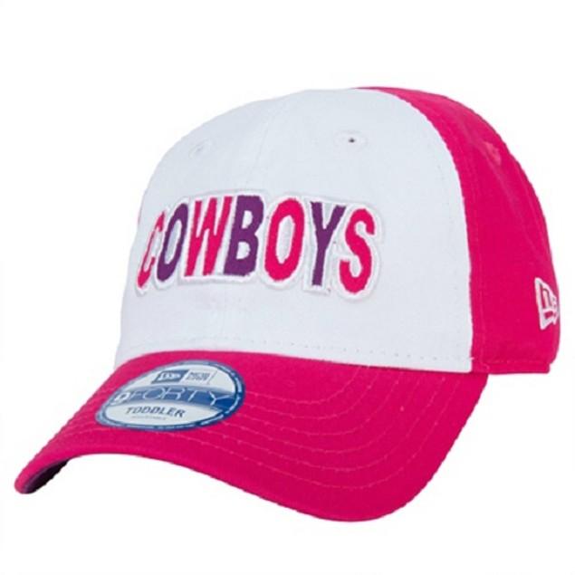 "Dallas Cowboys NFL New Era 9Forty ""Cutest Fan"" Toddler Cap"