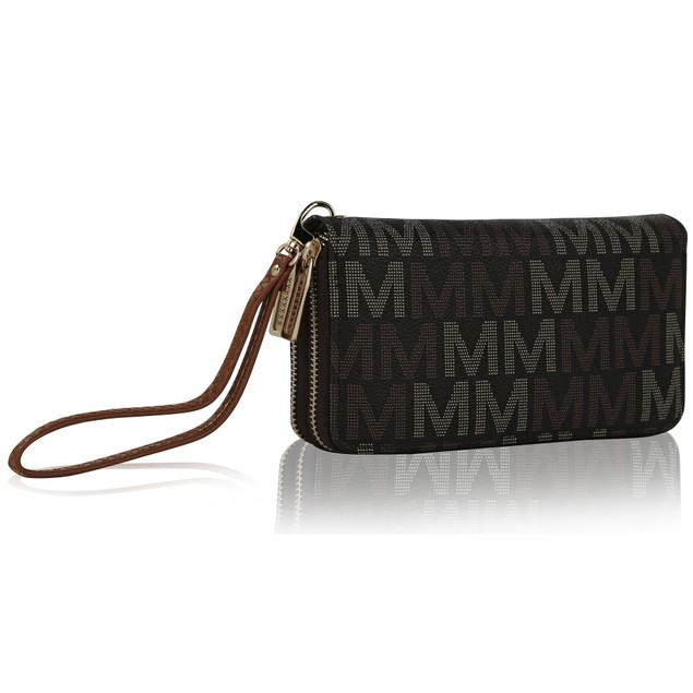 MKF Collection Hofstra M Signature Wristlet by Mia K. Farrow