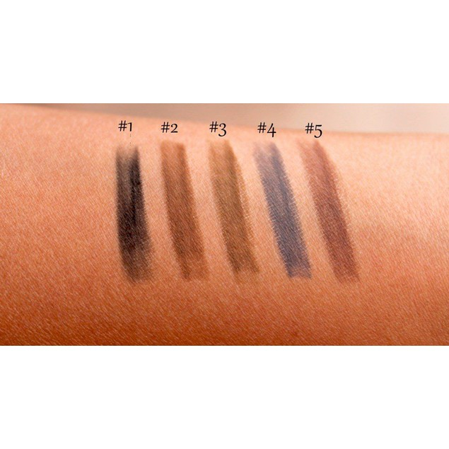 Eyebrow Pencil in Chalk-Like Colors - 5 Styles