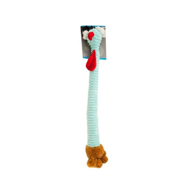 Long Body Turkey Plush Dog Toy